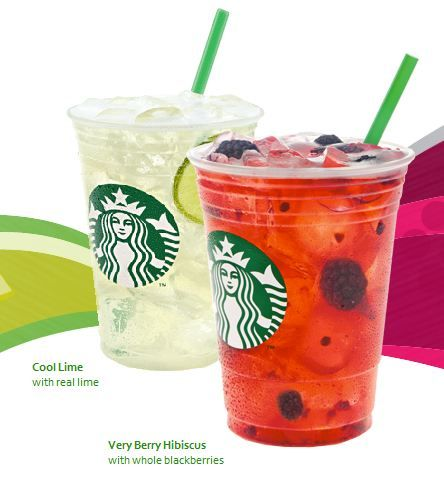 Starbucks Green Coffee Refreshers Drink Is Only 70 Calories For A