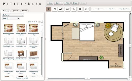 House Design Tool Favorites   Pottery Barn Room Planner, Art.com, Ollioboard Great Ideas