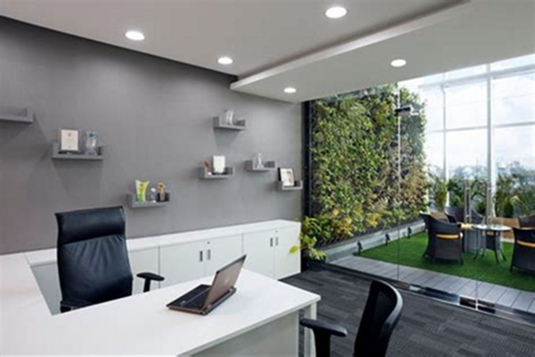 Make Your Work Improvement With 25 Best Modern Small Home Office Design Ideas Decorits Office Cabin Design Modern Office Design Cabin Interior Design