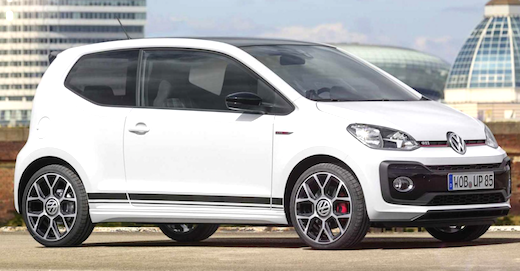 2019 Volkswagen UP GTI Redesign The VW up 2019 is set to