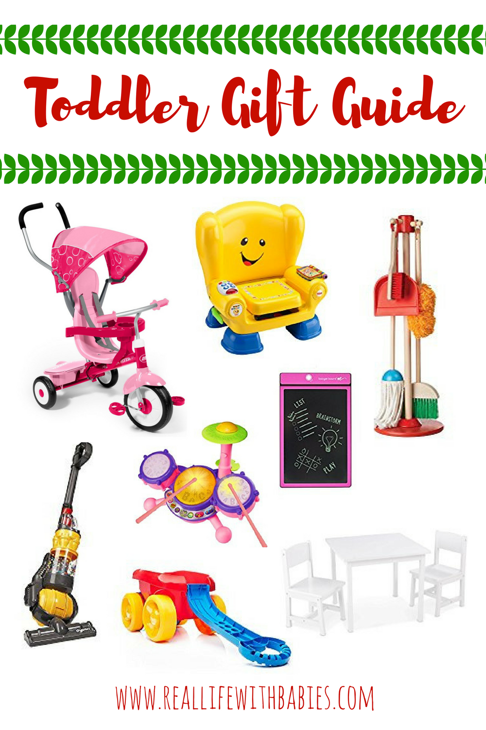 Are any of you last minute Christmas shoppers like me? Have a toddler to buy for? Check out this Toddler Gift Guide with quick shipping from Amazon!