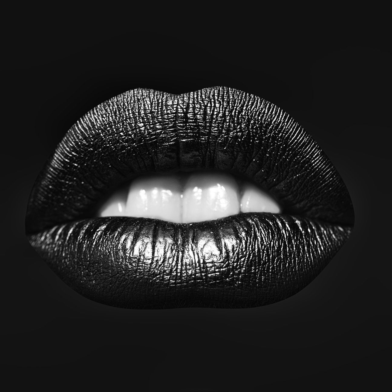 Black and white lips Poster Art – Kissing Cockatoo   Black and white  photography portraits, Black and white art drawing, White lips