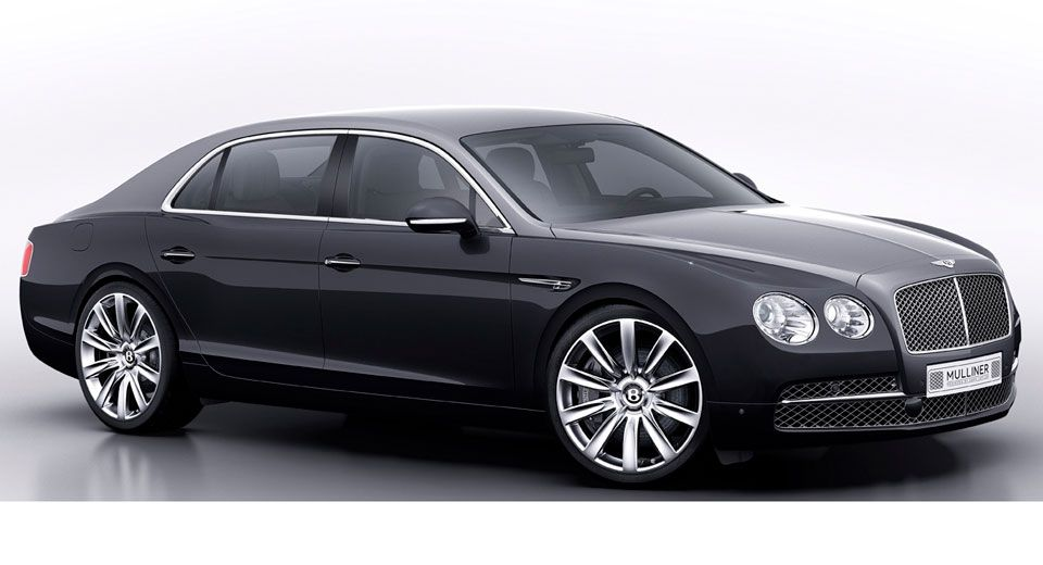 Mulliner Reveals a Special Edition Bentley Flying Spur GQ Korea