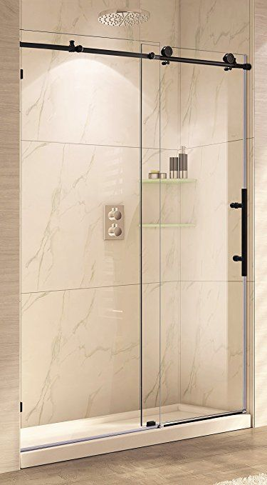 Paragon Bath Crsbs0362 Orb Tub Frameless Sliding Tub Shower Door