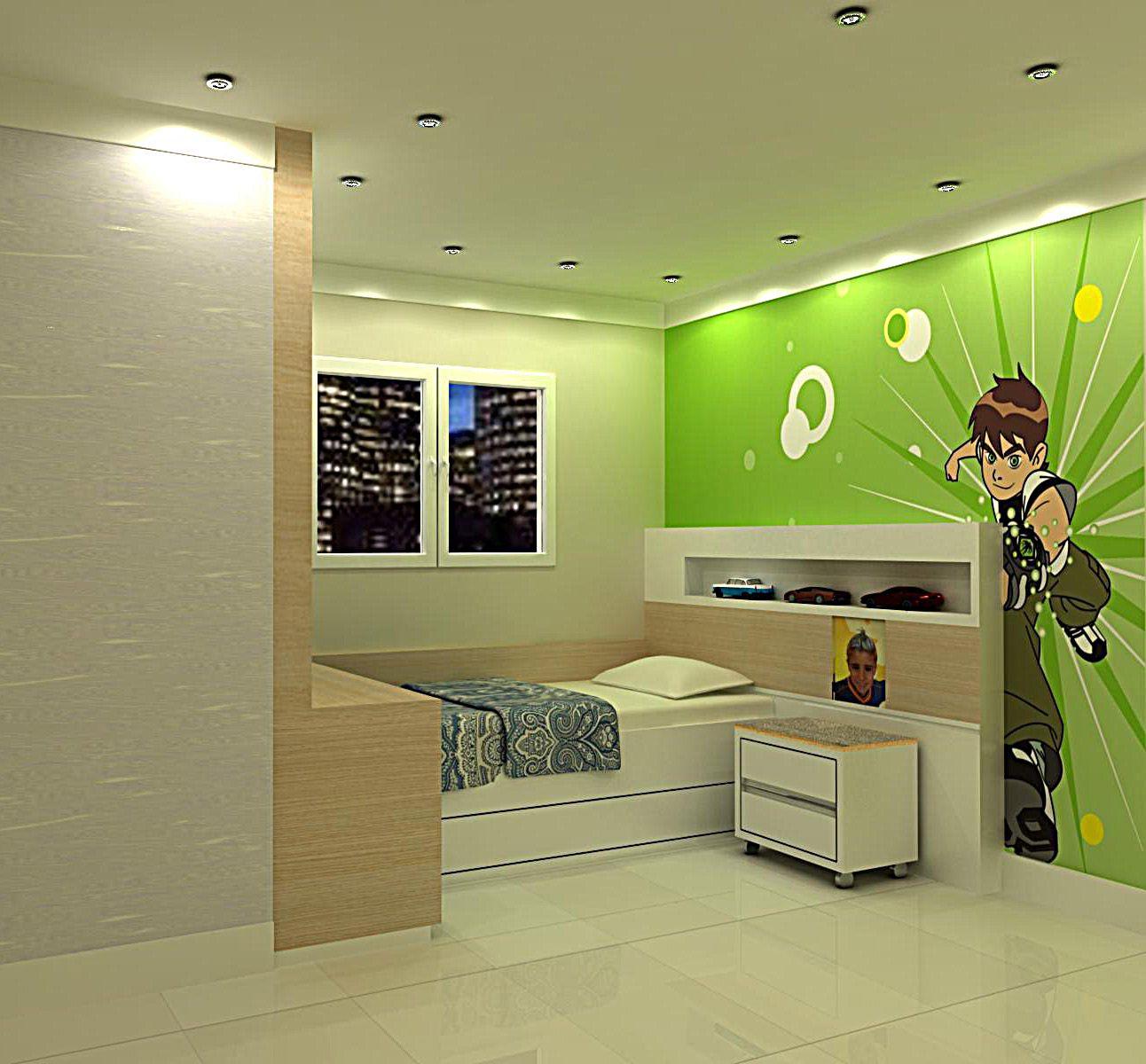 Decoracao de quarto de menino 1292 1200 quarto for Ben 10 bedroom ideas