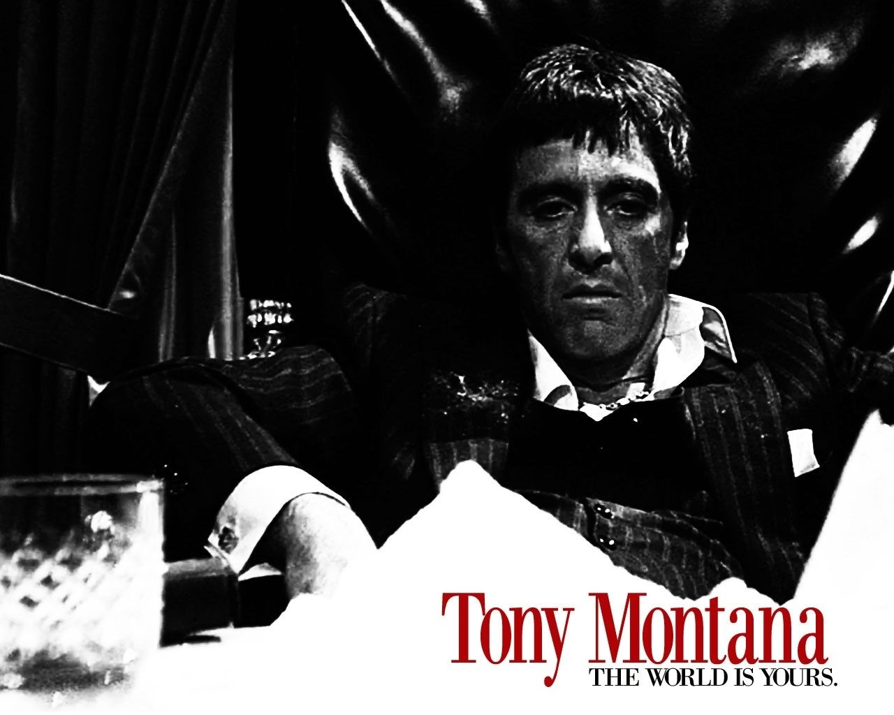 Tony Montana Scarface Wallpaper Wallpapers Heroes