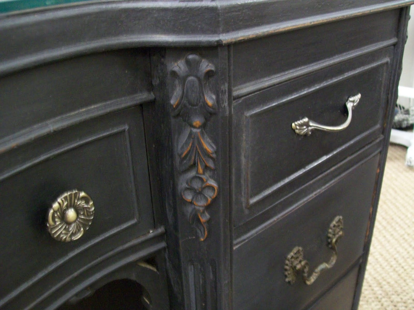 Annie Sloan Graphite Furniture