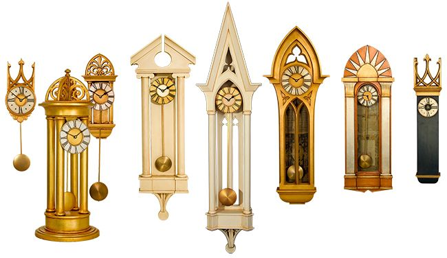 Pendulum Clock Collection By Decorative Arts Gallery