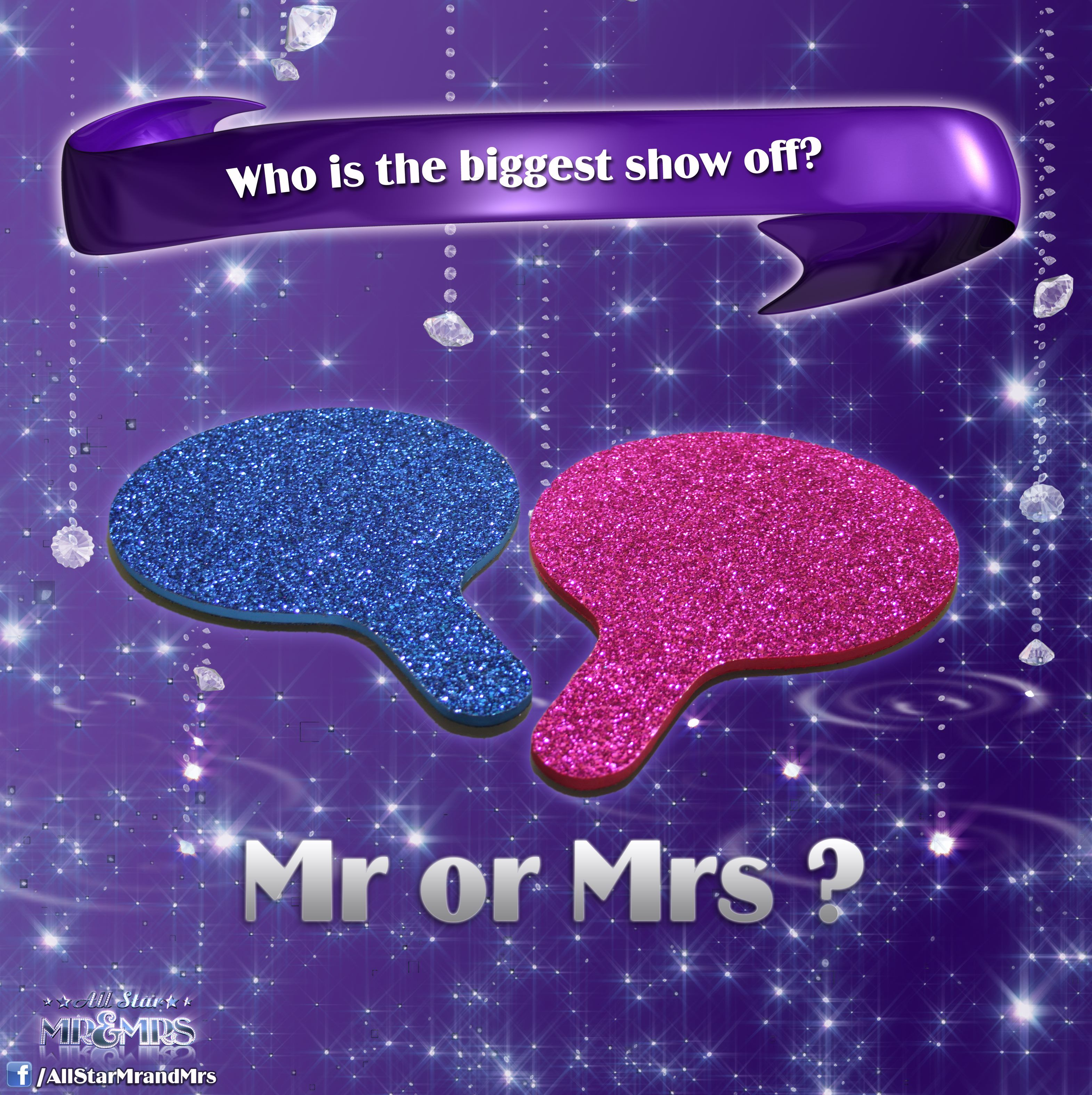 Who Is The Biggest Show Off? Mr OR Mrs? #AllStarMrandMrs