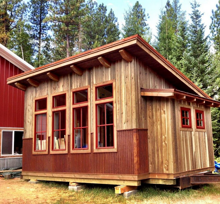 Small Cabin Kits For Sale With Nice Tiny House Design, The