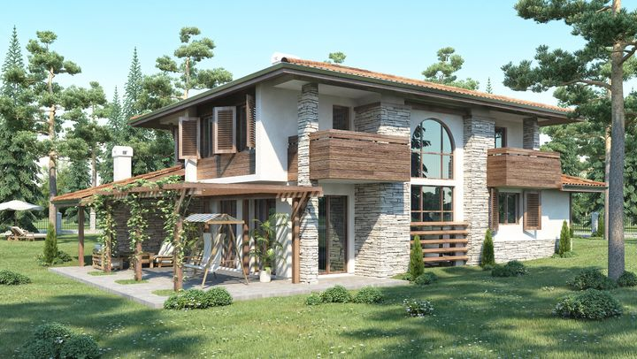 Ready-made house plans - ISPDD   House plans, House styles ...