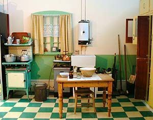 1930s Kitchen Design Farmhouse style kitchen, 1930s
