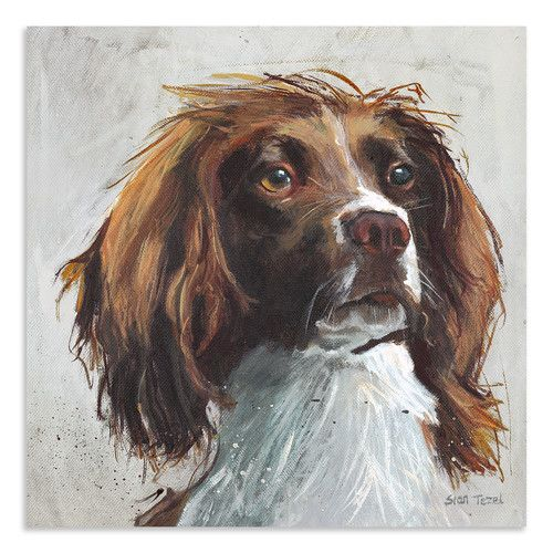 Found it at Wayfair.co.uk - Duke by Sian Tezel Art Print on Canvas