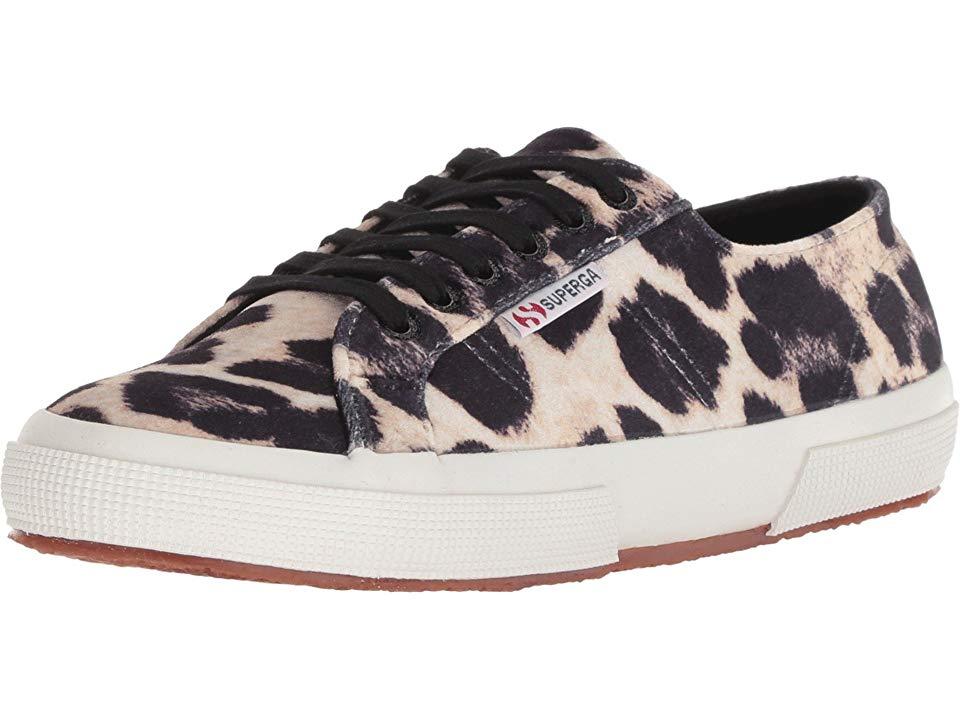 8d756160d453 Superga 2750 Fanvelw Women's Lace up casual Shoes Leopard | Products ...