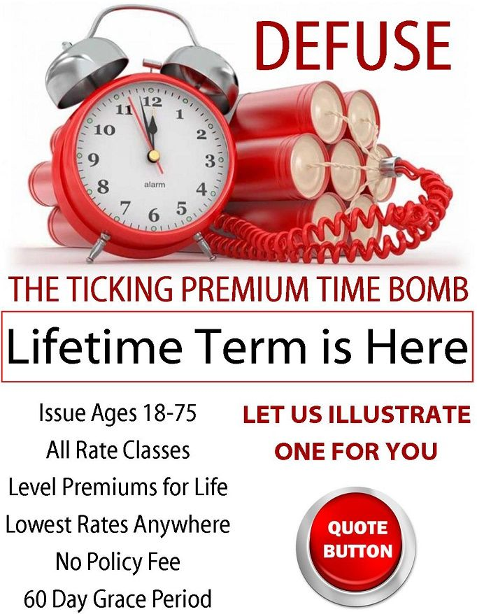 Defuse the Premium Time Bomb | Universal life insurance ...