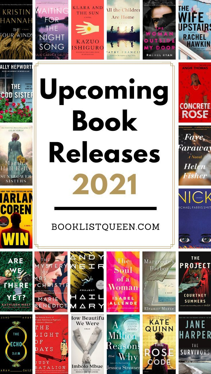 Upcoming Book Releases 2021