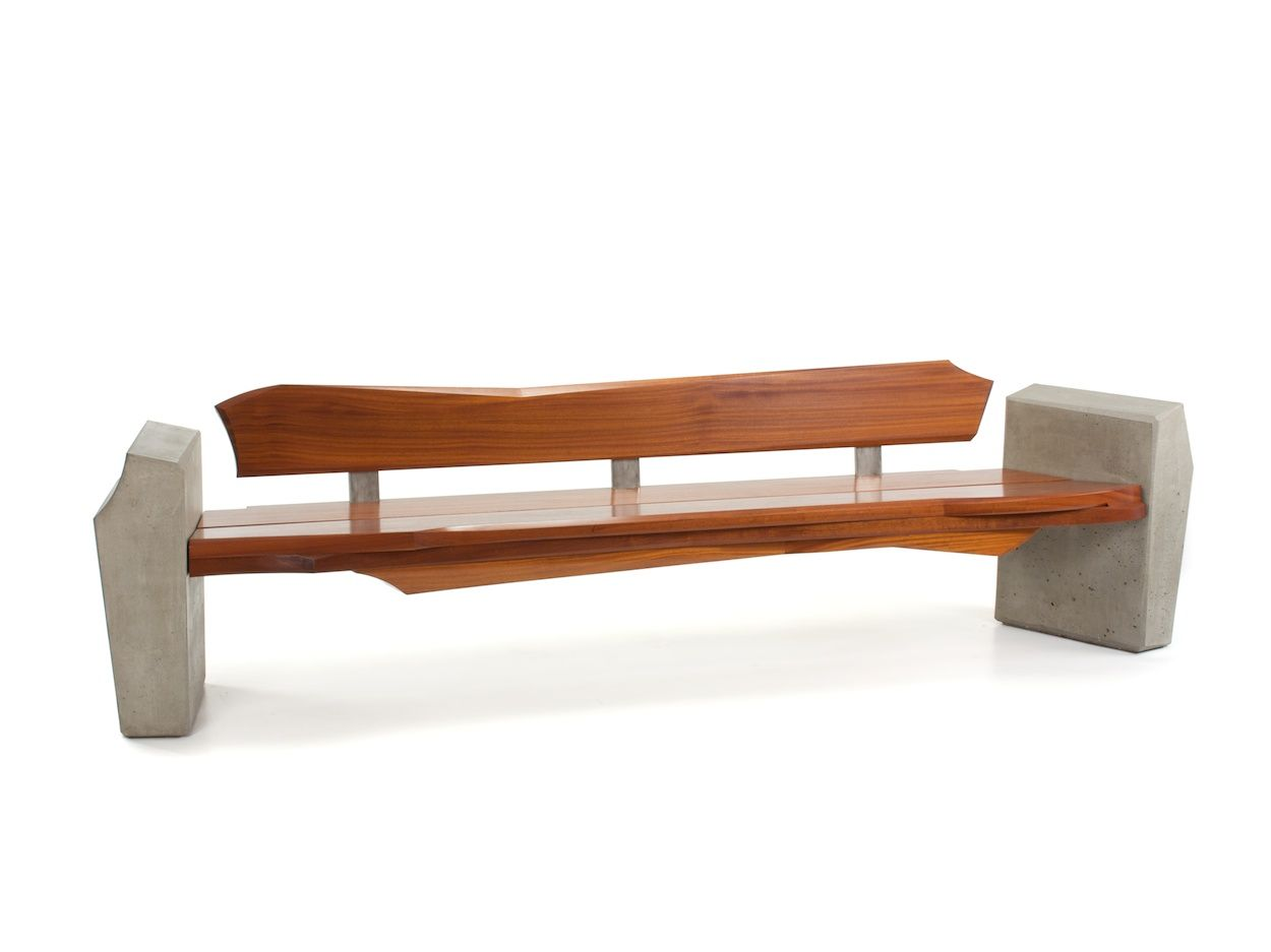 rustic contemporary furniture. Contemporary Rustic Modern Furniture Outdoor. Outdoor Bench Sculpted By Nico Yektai. Is A N