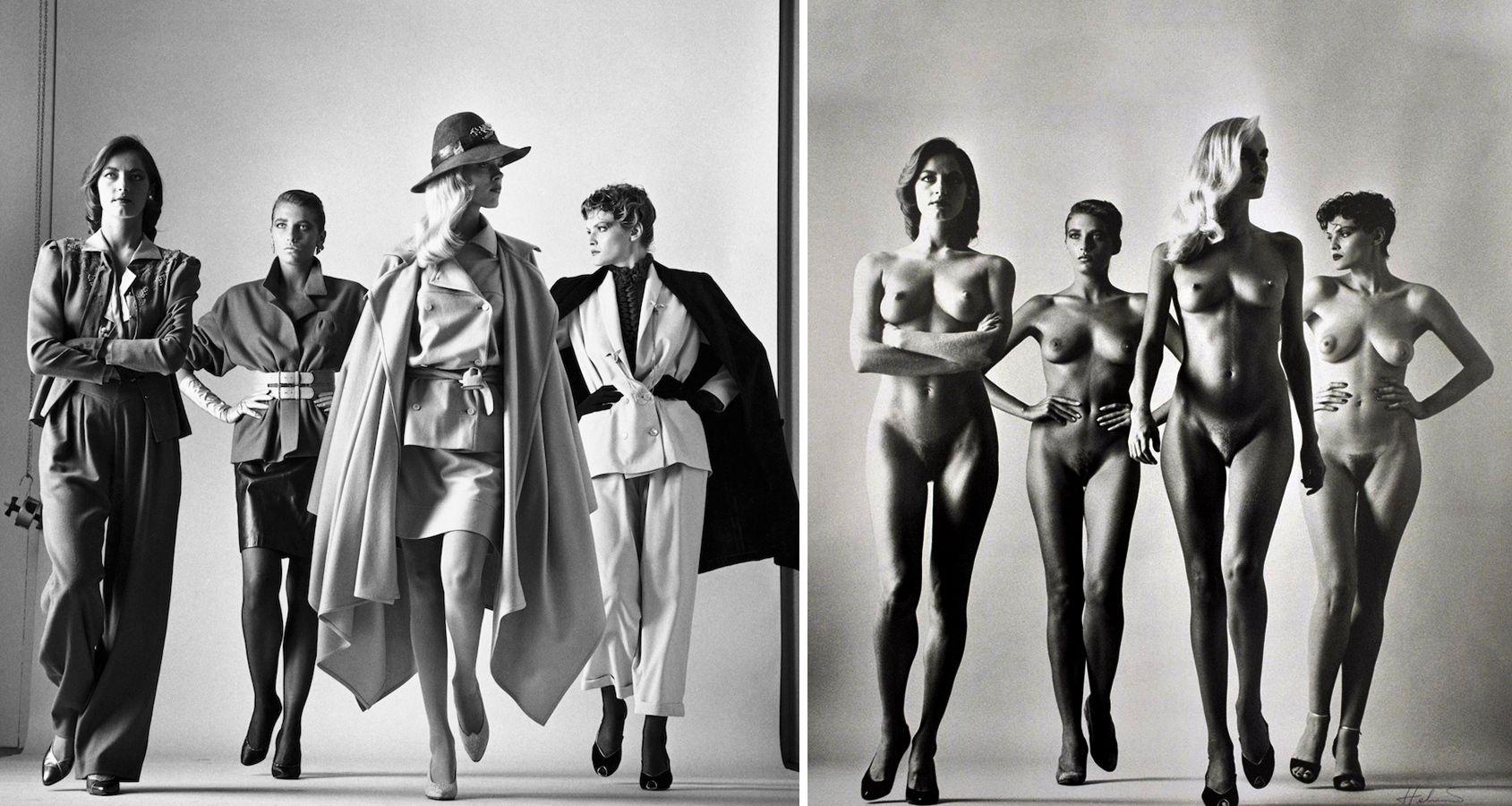 helmut newton / paris 1981