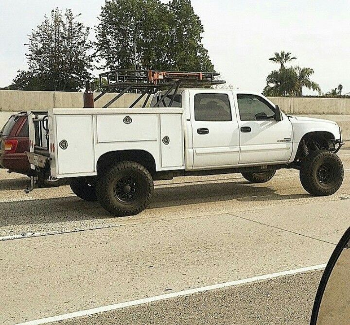 Chace Truck With Custom Roof Bed Rack Utility Truck Beds