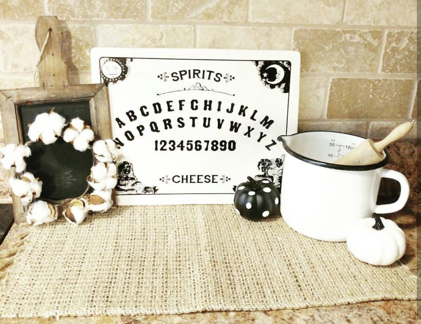 elegant farmhouse halloween decor country halloween decor black and white neutral halloween - Black And White Halloween Decor