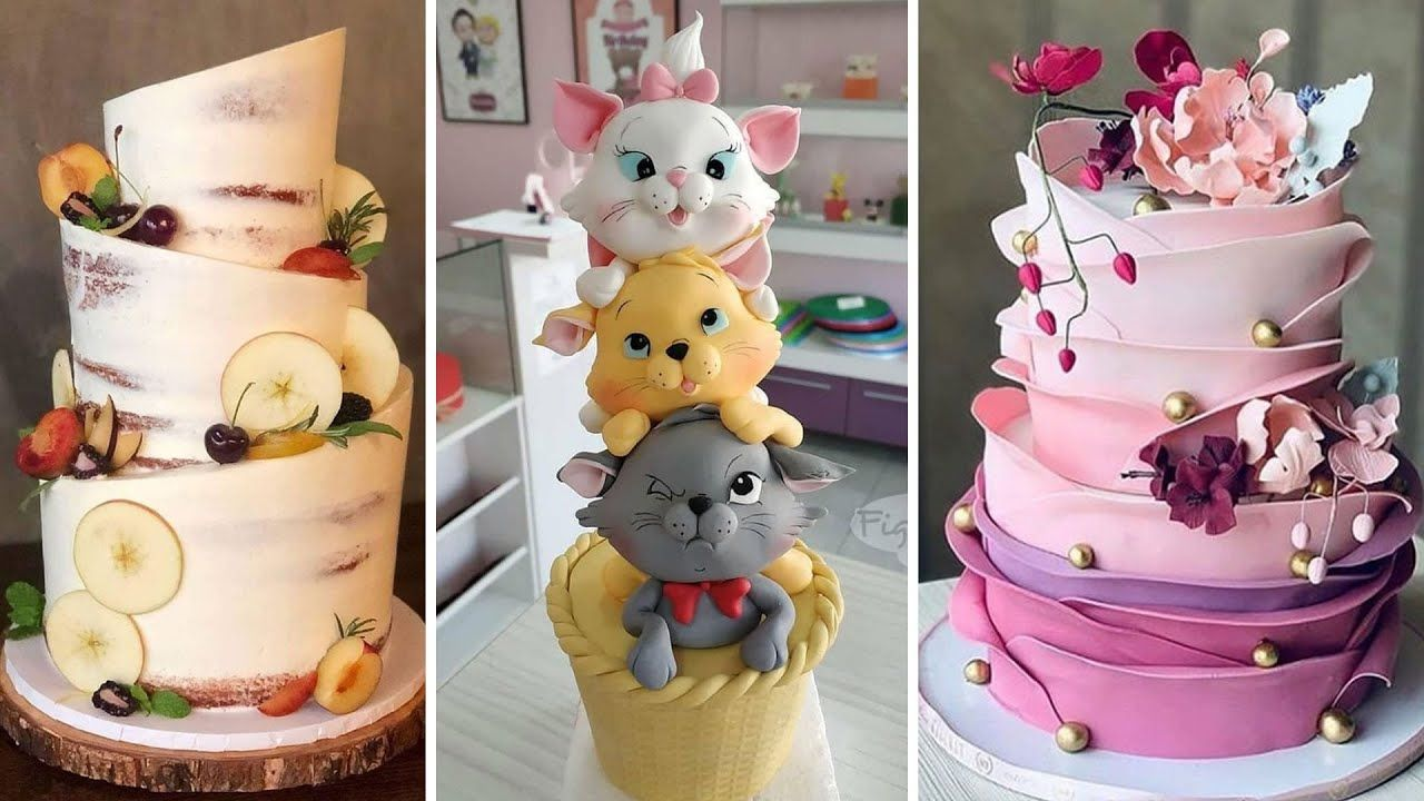 Top Fondant Cake Decorating Compilation | Easy Cake Decorating Ideas | So Tasty Cakes