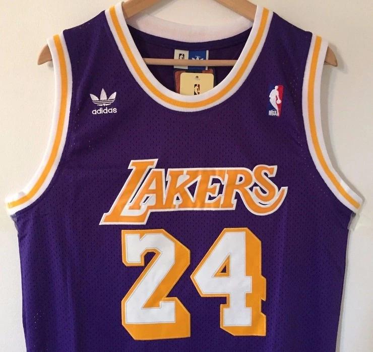 Men 24 Kobe Bryant Jersey Purple Los Angeles Lakers Swingman ...