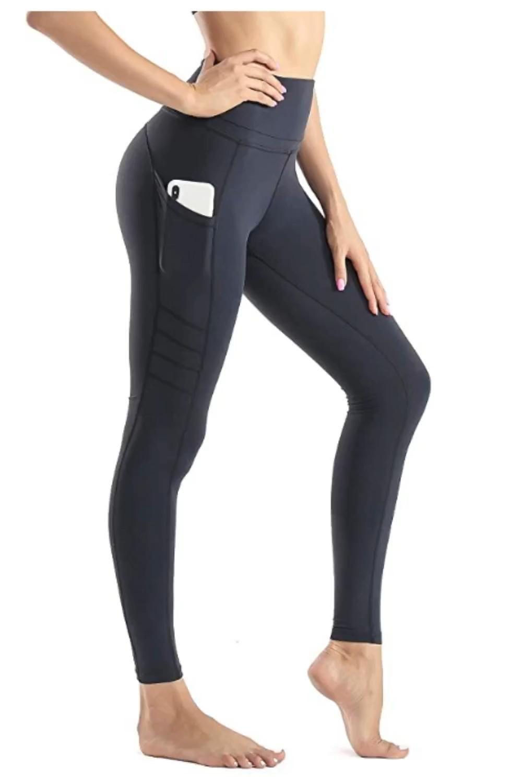 Wirezoll Sport Damen Leggings Lange Blickdicht Yoga Hose Sporthose Fitnesshose Mit Taschen Video Sporthose Damen Fitness Hose Damen Leggings