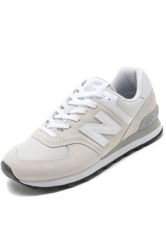 Tênis New Balance 574 Branco - Compre Agora | Dafiti Brasil ...
