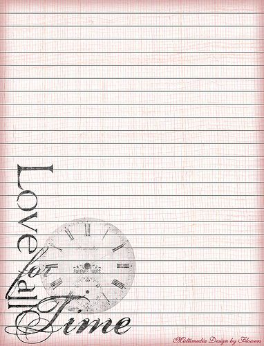 Free Printable Lined Stationery Paper Love Pinterest - lined letter paper