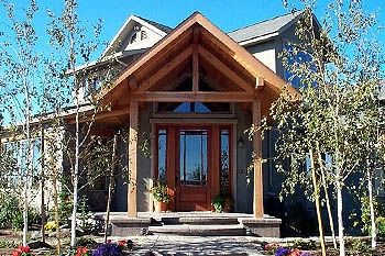 Craftsman Meets Cabin Style Passive Solar Home In Yakima