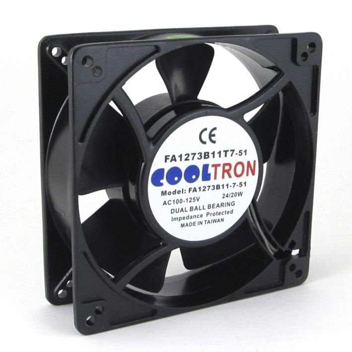115v Ac Cooltron Fan 127mm X 38mm High Speed Ac Infinity Fan