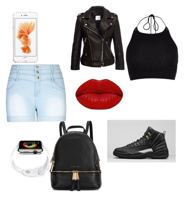 """""""my summer outfit"""" by nathaliablackman on Polyvore featuring beauty, City Chic, River Island, Michael Kors and Winky Lux"""