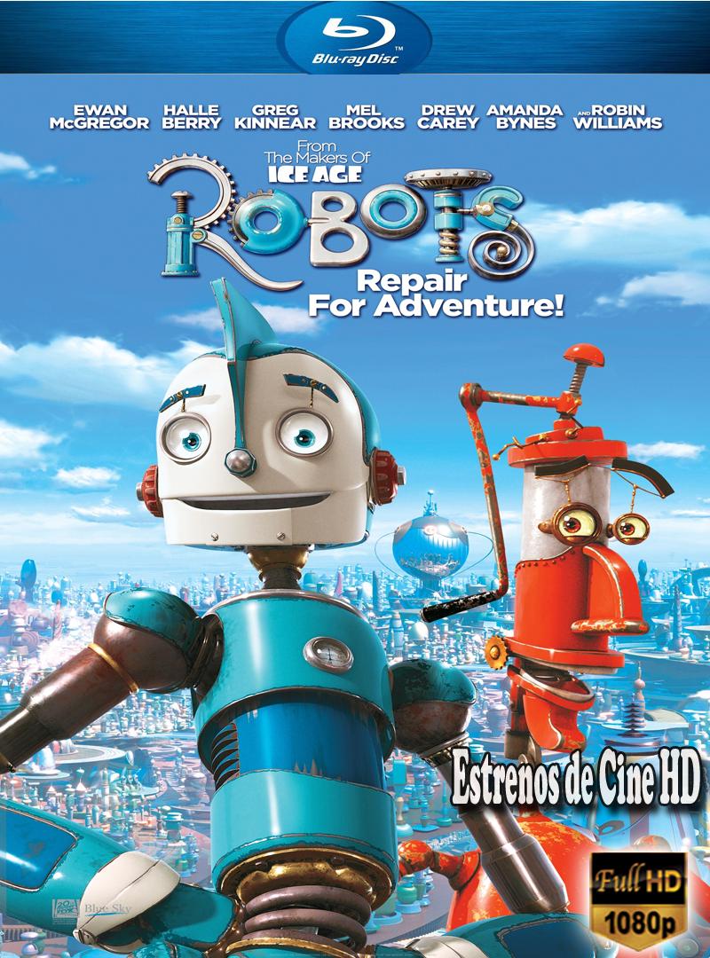 Robots Brrip 1080p Dual 5 1 Latino Inlges Animacion 2005 Estrenos De Peliculas Infantiles De Disney Peliculas Dibujos Animados Peliculas Dibujos
