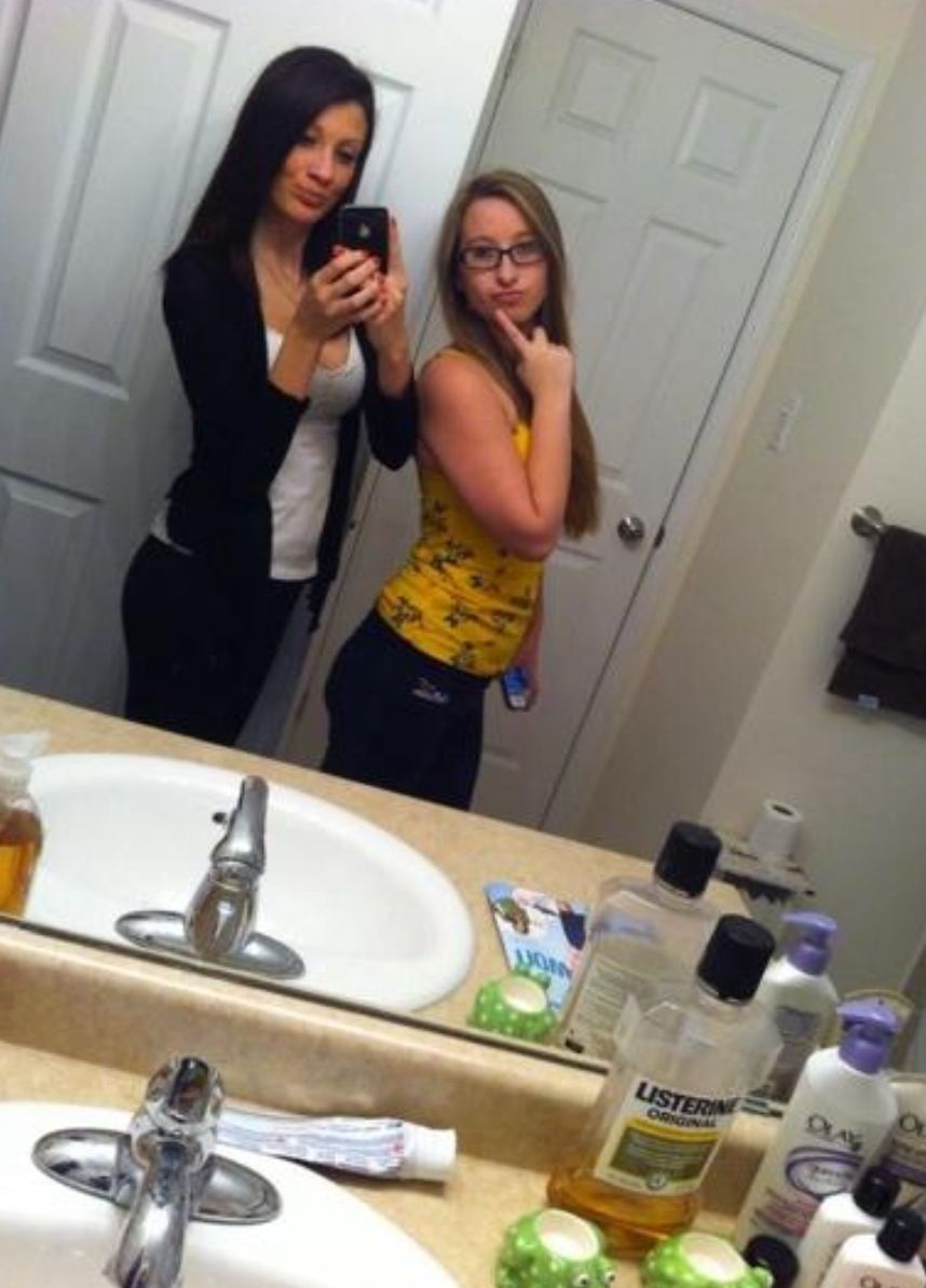 Bathroom Selfie: Beauty Of The Female Form