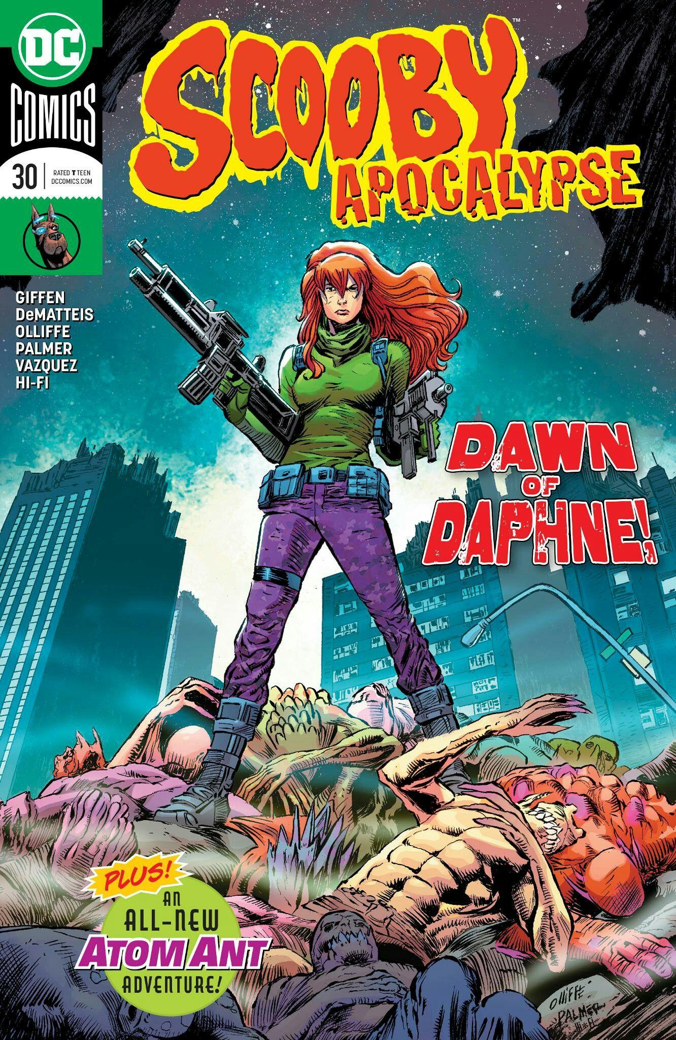 SCOOBY APOCALYPSE #30   DC Comics   Comic books, Dc comic books