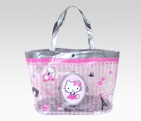 Tote bag with Hello Kitty pouch