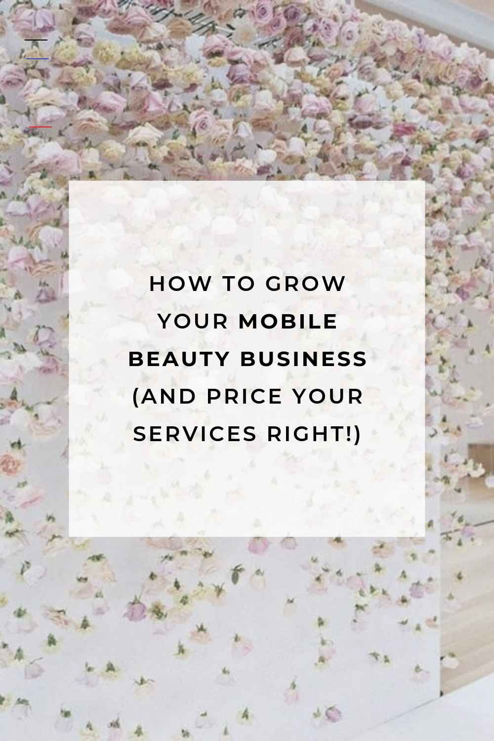 How to grow your mobile hairstylist business