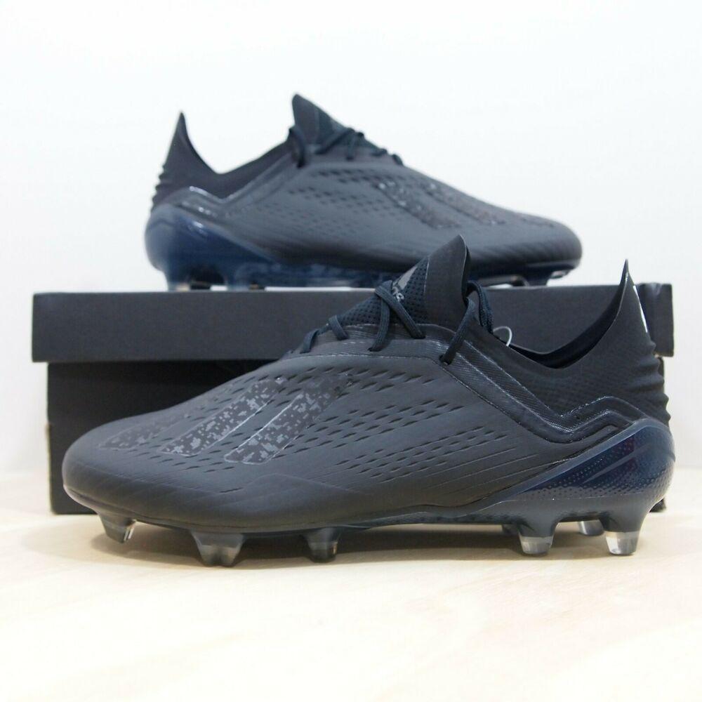 Adidas X 18.1 FG Men New Soccer Football Black White Cleats DB2248