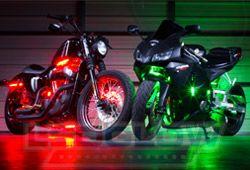 Multi color motorcycle lights motorcycle gear pinterest multi color motorcycle lights mozeypictures Gallery