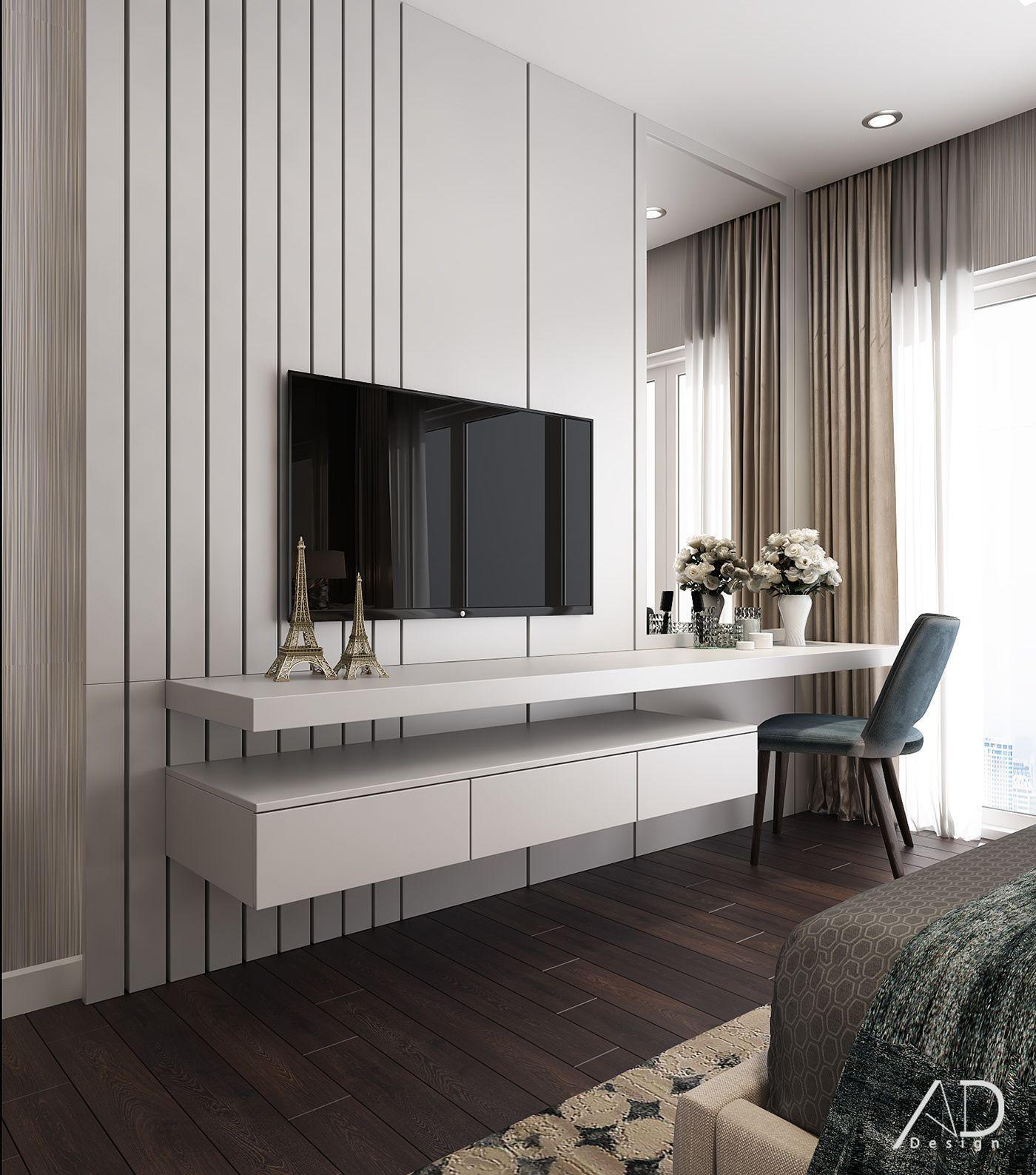 VINHOMES CENTRAL PARK on Behance  Minimalist bedroom design