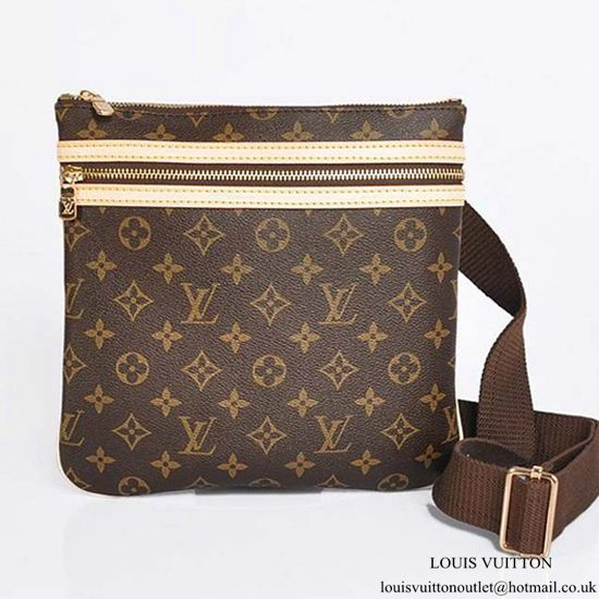 Louis Vuitton M40044 Pochette Bosphore Crossbody Bag Monogram Canvas ... 84637cf56f6fb