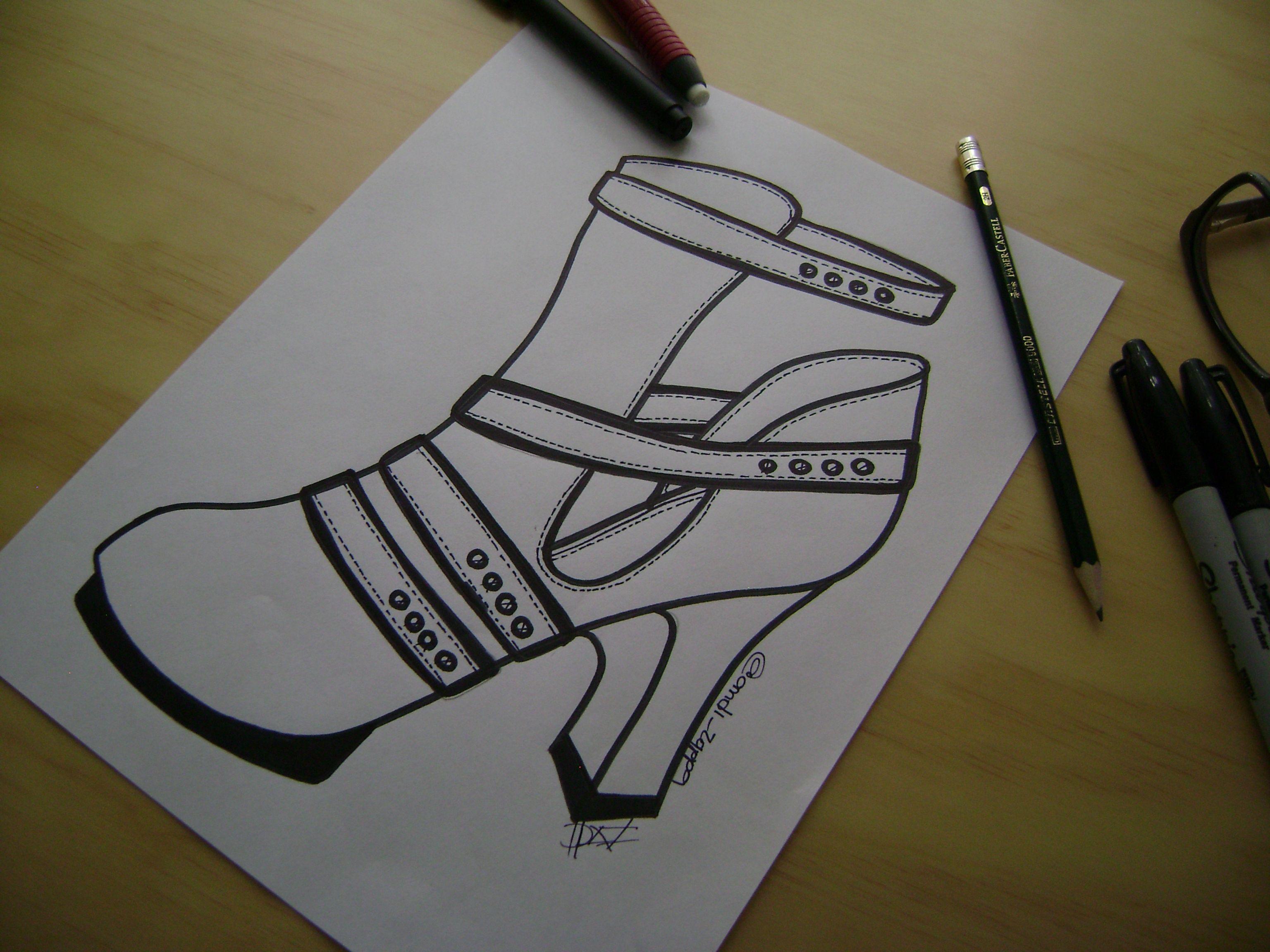 Sketching... #dazshoes1916 #diseñoandizappa #zapatos #shoes #calzado #zapatería #diseño #handmade #madeincolombia #diseñodecalzado #sketchdecalzado #sketching #illustration #ilustracion #design #sketchoftheday #shoeart #drawingshoes #dibujozapatos #shoesdraw #shoedesigner #fashiondesigner #fashionillustration #footweardesigner #shoeillustration #medellin #comprocolombiano #footweardesign #shoesketch https://www.facebook.com/DAZ-Shoes1916-349377852081204/ @andi_zappa @Andi_Zappa