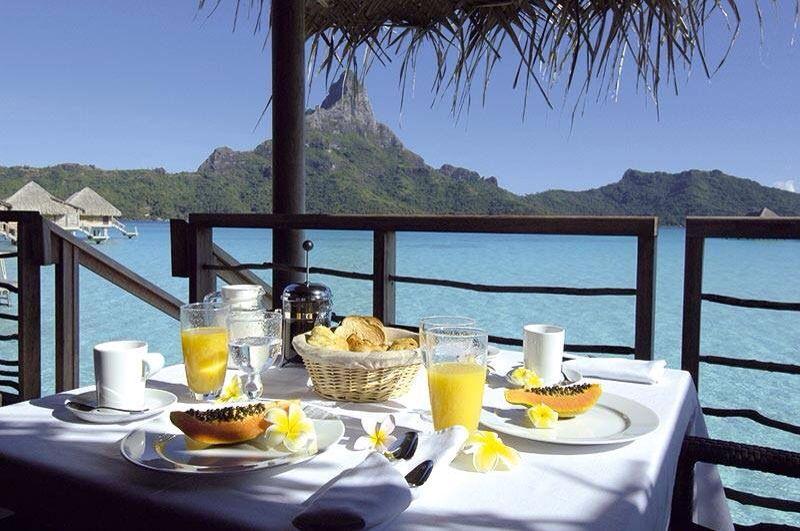 Картинки завтрак у моря на двоих, открытки