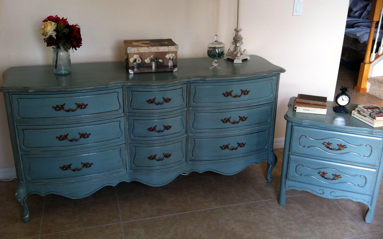 Agave Bedroom Set Furniture update, Bedroom set, Redo