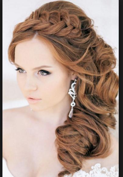 resultado de imagen de peinados elegantes de lado