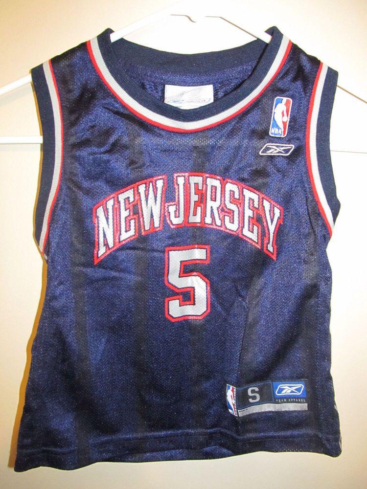 competitive price 45391 b83f5 Jason Kidd - New Jersey Nets jersey - Reebok Toddler 4T ...