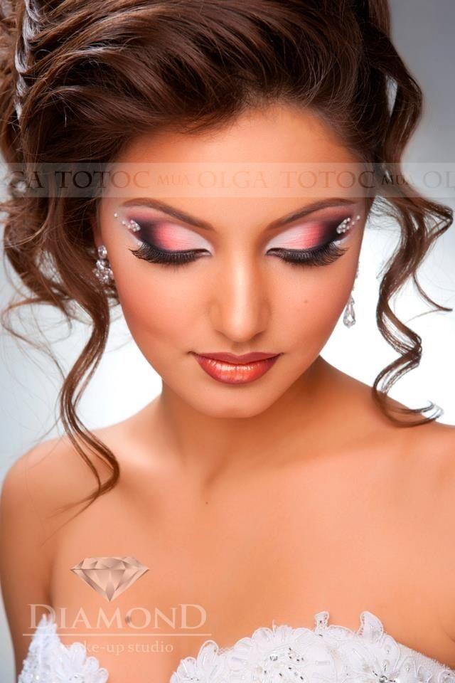 """Эксклюзивный свадебный макияж от """"Olga Totoc make-up Studio"""""""