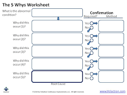 Image Result For 5 Whys Template 5 Whys Analysis Business Template