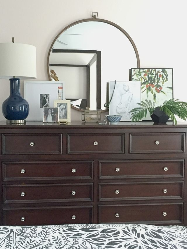 How to stage a dresser | Bedrooms | Pinterest | Stains, Flowers ...