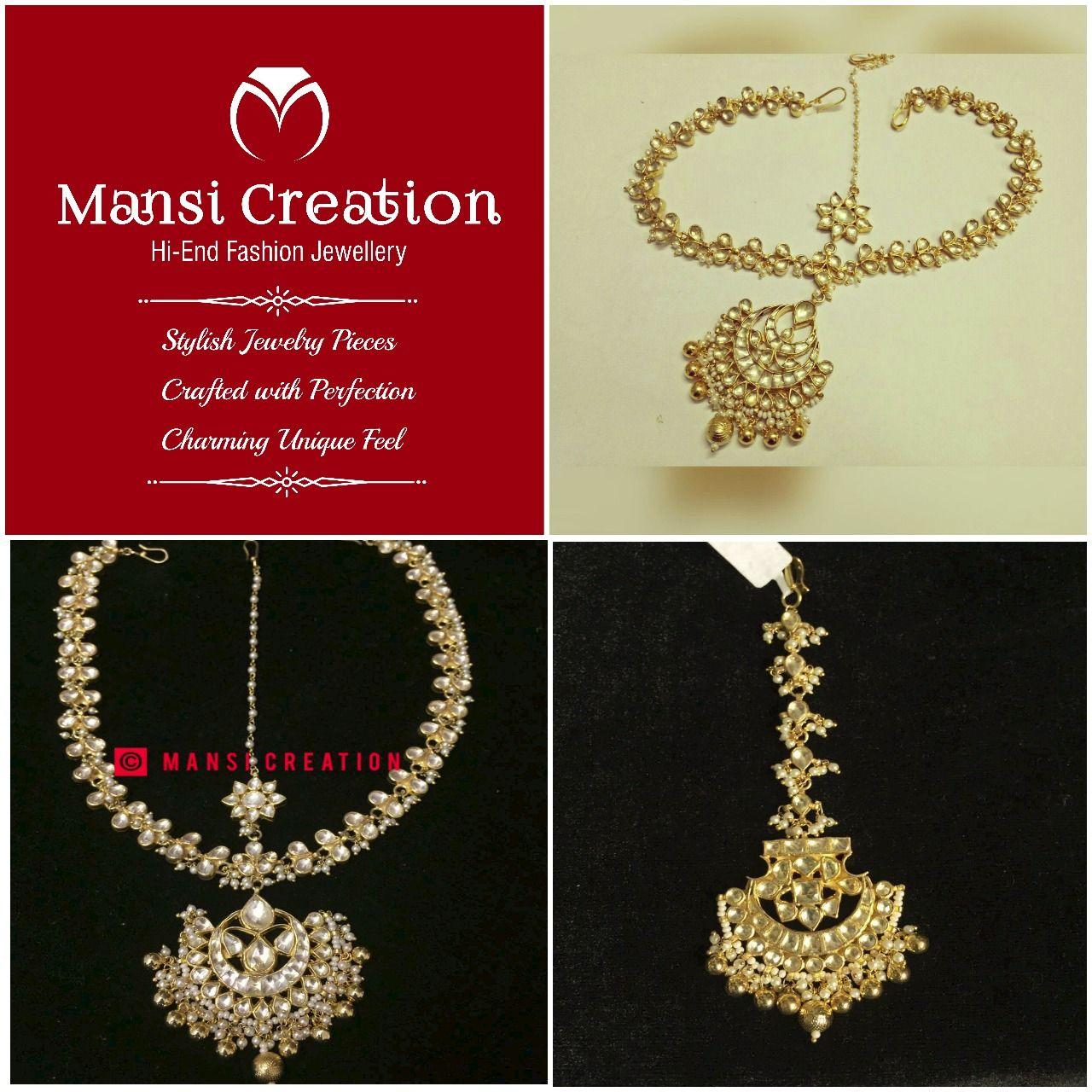 Jewelleries From Mansi Creation Will Steal Your Heart